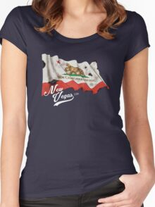 New Vegas - Circa 2281 Women's Fitted Scoop T-Shirt