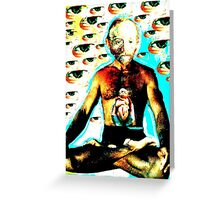 A Vision Of Vincent Greeting Card