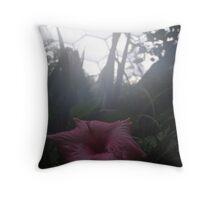 Eden Project-Flower Throw Pillow