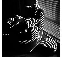 THE COMFY CHAIR TAKE III (B/W MIX) Photographic Print