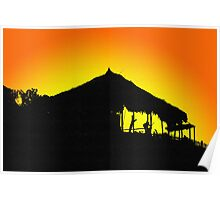 Sunset In Makatao Poster
