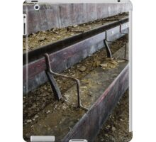 Abandoned theatre steps - architectual abstract iPad Case/Skin