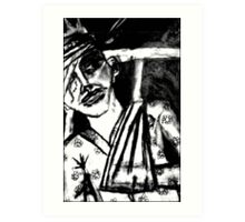 The Wounded King Art Print