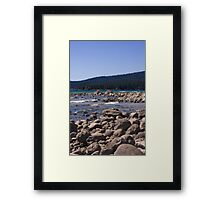Lake Tahoe, USA, shoreline Framed Print