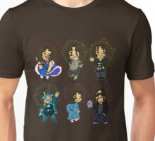 Many faces of - Dan Avidan! Unisex T-Shirt