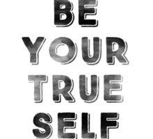 Be Your True Self Sticker