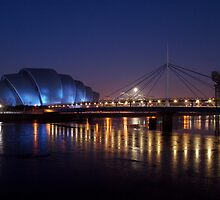 Ice on the River Clyde by Daniel Davison
