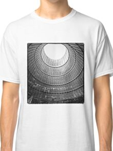 the house inside the cooling tower - industrial decay Classic T-Shirt