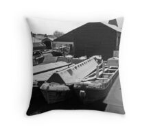 Going Nowhere Fast Throw Pillow