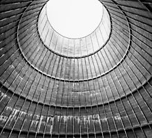 the house inside the cooling tower - abandoned factory by dirkercken