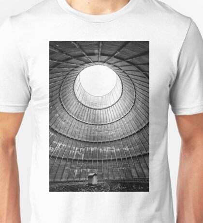 the house inside the cooling tower - abandoned factory Unisex T-Shirt