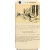 The Land of Enchantment by Arthur Rackham 0032 The Ground Gnome Began to Muzzle the Dogs iPhone Case/Skin