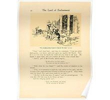 The Land of Enchantment by Arthur Rackham 0032 The Ground Gnome Began to Muzzle the Dogs Poster