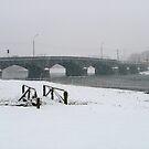 Mallow under snow - Mallow Town bridge by Jason Kiely