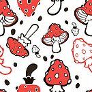 - Mushroom pattern - by Losenko  Mila