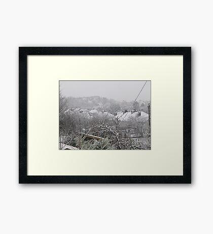 Cork Winter Framed Print