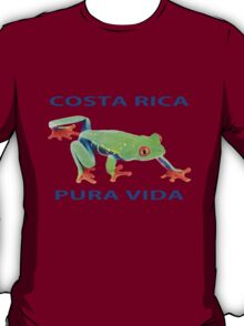 Red eyed tree frog Costa Rica T-Shirt