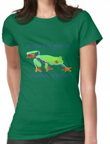 Red eyed tree frog Costa Rica Womens Fitted T-Shirt