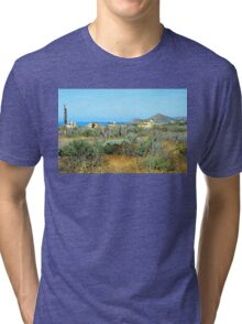 Baja Mexico Southern Pacific Coast  Tri-blend T-Shirt