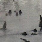 Great Cormorant freezing 1 by BrittArnhild