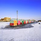 wintry seafront by Zuzana D Photography