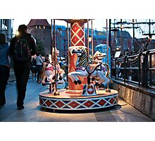 carousel, Gdansk Photographic Print