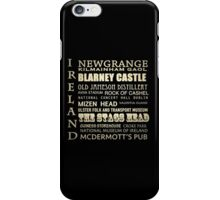 Ireland Famous Landmarks iPhone Case/Skin