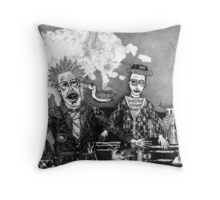 The Shaman Casts The King Adrift Throw Pillow