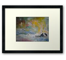 mystery and magic Framed Print