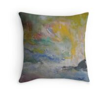 mystery and magic Throw Pillow