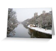 Wear Snowstorm Greeting Card