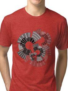 City Wheels Tri-blend T-Shirt