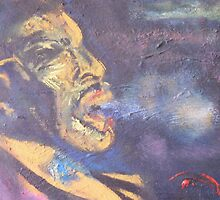 the blues singer by Colm Sherry