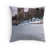 Icy Durham Throw Pillow
