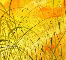 Orange Grass by roman480