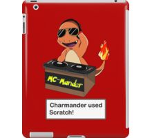 Charmander Used Scratch! iPad Case/Skin