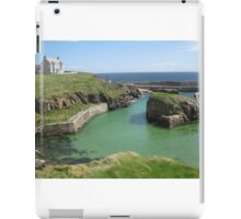 Port of Ness, Isle of Lewis iPad Case/Skin