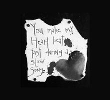 Heart Beat B&W  by PoetJenHarris