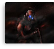 Lone Trooper Canvas Print