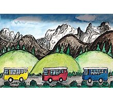 Mountain Travel Photographic Print