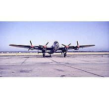 Lancaster Bomber Photographic Print