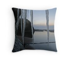Icy Donegal Throw Pillow