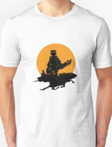 Robot Musician - Bass Guitar T-Shirt