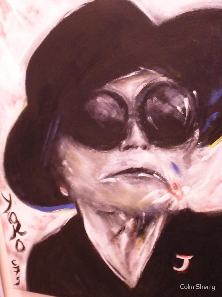 yoko ono by Colm Sherry