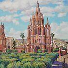 Plaza en San Miguel de Allende, Mexico by HDPotwin