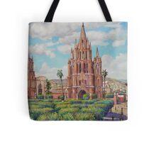 Plaza en San Miguel de Allende, Mexico Tote Bag