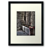 The Bathroom Framed Print