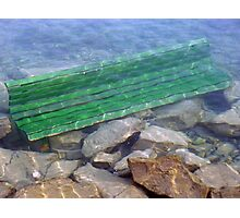 diving bench Photographic Print