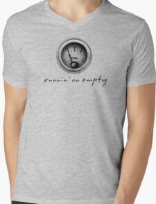 runnin'on empty..by Russ Mens V-Neck T-Shirt