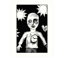 Time Ticking Ever So Slowly Out Art Print